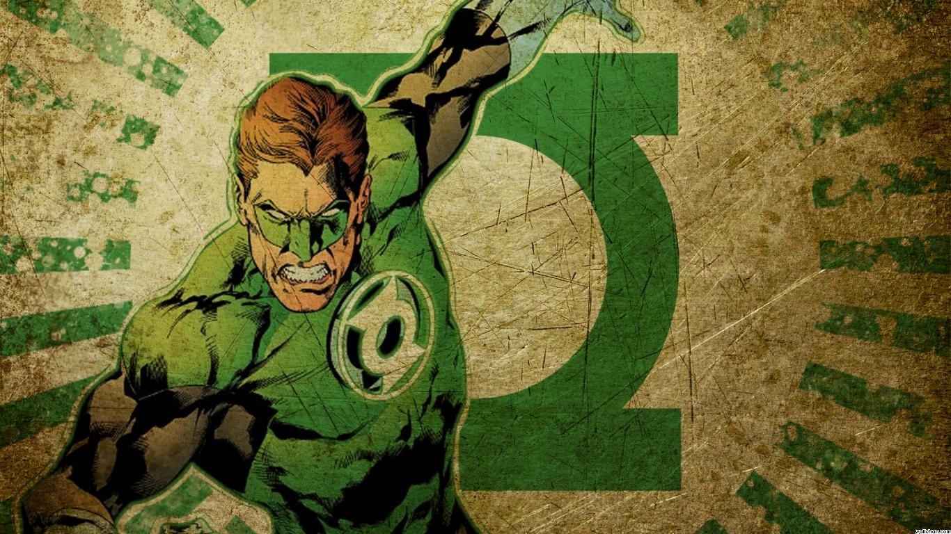 1058 running green lantern wallpaper